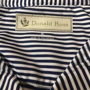 Donald Ross XL Short Sleeve Shirt 100% Polyester